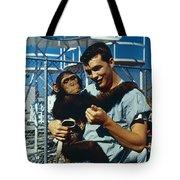 Space: Chimpanzee, 1961 Tote Bag