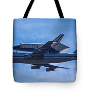 Space Shuttle Endevour Tote Bag