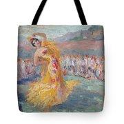 Spain Dancer Tote Bag