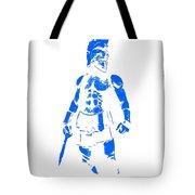 Spartan Hero Tote Bag