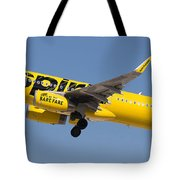 Spirit Airline Tote Bag