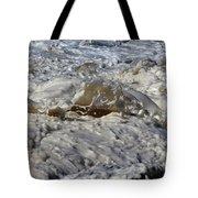 Splash Of A Momenary Water Sculpture Tote Bag