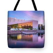 Spokane Washington City Skyline And Convention Center Tote Bag
