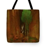 Spring In A Narrow Gorge  Tote Bag