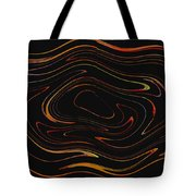 Squiggling Tote Bag