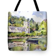 St Just In Roseland Church Tote Bag