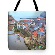Staithes - England Tote Bag