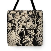 States Of Mind Those Who Go Tote Bag