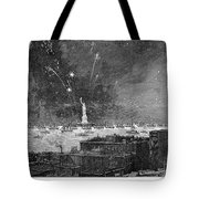 Statue Of Liberty, 1886 Tote Bag
