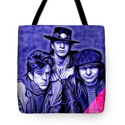 Stevie Ray Vaughan And Double Trouble Collection Tote Bag