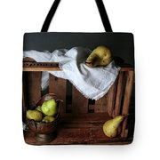 Still-life With Pears Tote Bag
