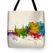 Stirling Scotland Skyline Tote Bag