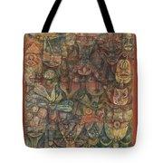 Strange Garden Tote Bag