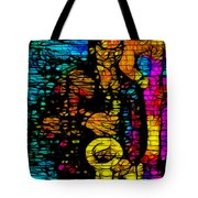 Street Jazz Tote Bag