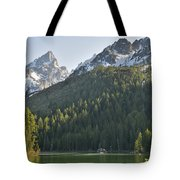 String Lake Reflection Tote Bag