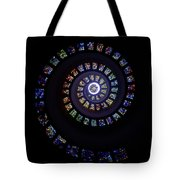 Colorful String Of Diamonds Tote Bag