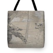 Study For The Unruly Calf Tote Bag