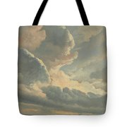 Study Of Clouds With A Sunset Near Rome Tote Bag
