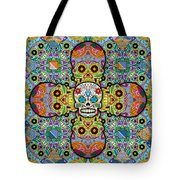 Sugar Skulls Tote Bag