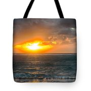 Sunrise At Kapaa - Kauai Tote Bag
