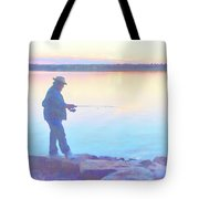 Sunrise Fisherman Tote Bag
