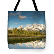 Sunrise In Wyoming Tote Bag