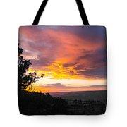 Sunset At Yaki Point Tote Bag