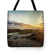 sunset Iceland Tote Bag