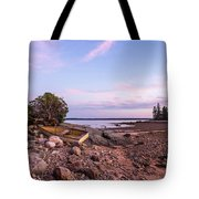 Sunset In New England Tote Bag