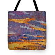 Sunset On Paseo Tote Bag