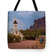 Superstition Mountain State Park Tote Bag