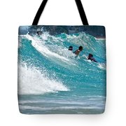 Surfs Up  Tote Bag
