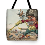 Swallow Destroying The French Army, Tote Bag