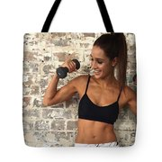 Sweat With Kayla Tote Bag