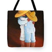 Sweet Embrace Tote Bag by Lance Headlee
