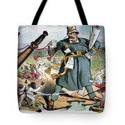 T. Roosevelt Cartoon Tote Bag