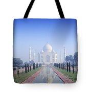 Taj Mahal View Tote Bag