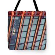 Tall Building Showing Colors #2 Tote Bag