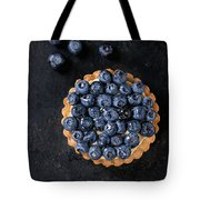 Tartlet With Blueberries Tote Bag