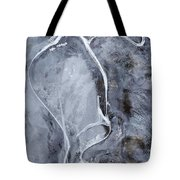 Texture Of Ice Tote Bag