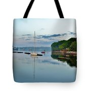 The Bass River At Dawn, Beverly Ma Tote Bag