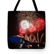 the Blue Angels US Navy    Tote Bag