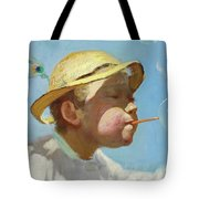 The Bubble Boy Tote Bag