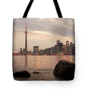 The City Of Toronto Tote Bag