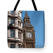 The Clock Tower In London Tote Bag