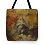 The Coronation Of The Virgin Tote Bag