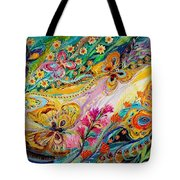 The Dance Of Butterflies Tote Bag