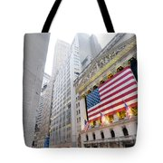 The Facade Of The New York Stock Tote Bag