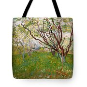 The Flowering Orchard Tote Bag