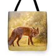 The Fox And The Fairy Dust Tote Bag